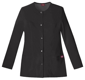 Dickies 82409 Jr. Fit Snap Front Warm-Up Jacket in 5 Colors for Women