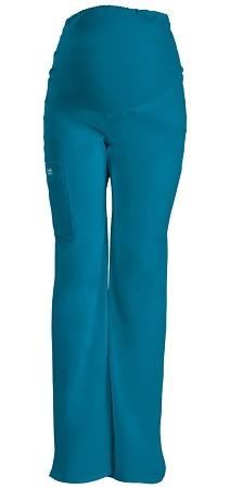 Workwear 4208 Women's Maternity Knit Waist Pull-On Scrub Pant in 11 Colors