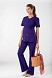 Workwear 4708 Women's Maternity V-Neck Knit Panel Scrub Top in 11 colors