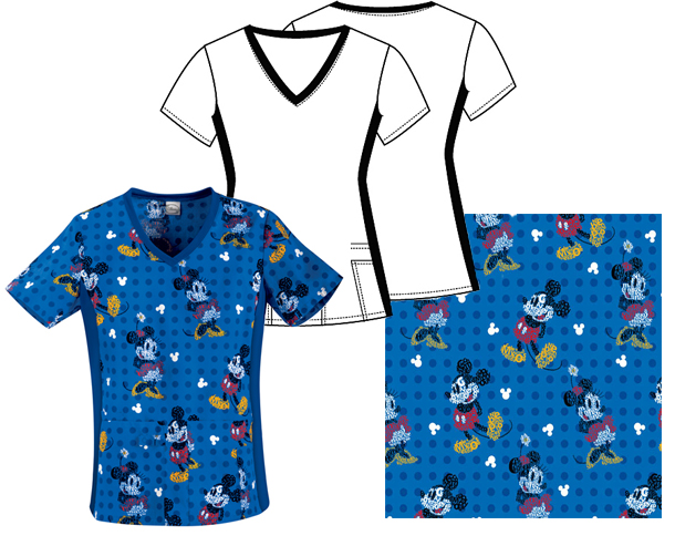 Tooniforms Mickey and Minnie